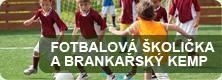 Fotbalová školička a brankářská kemp